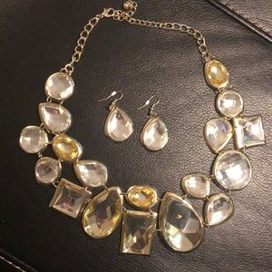 Traci Lynn earring and necklace set